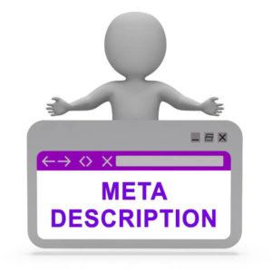 shopify seo meta description